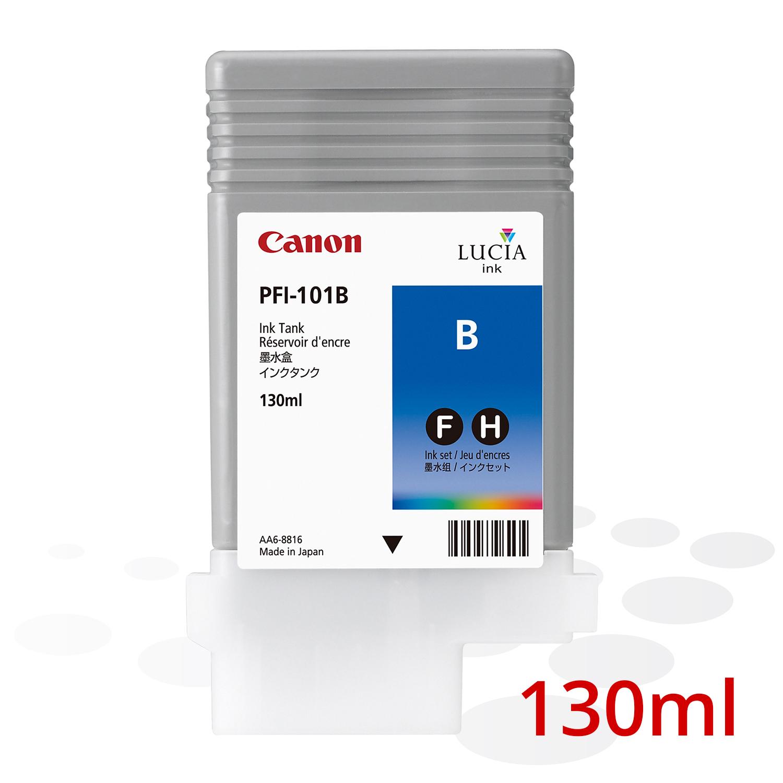 Canon PFI-101 B, Blau, 130 ml