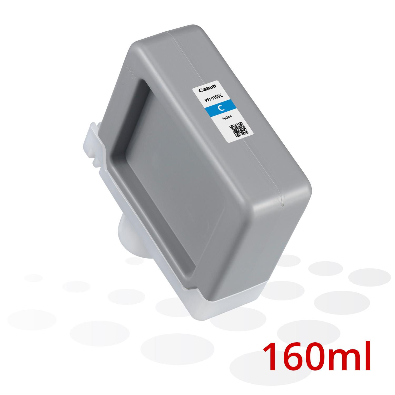 Canon PFI-1100 C, Cyan, 160 ml