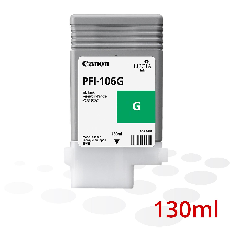 Canon PFI-106 G, Grün, 130 ml