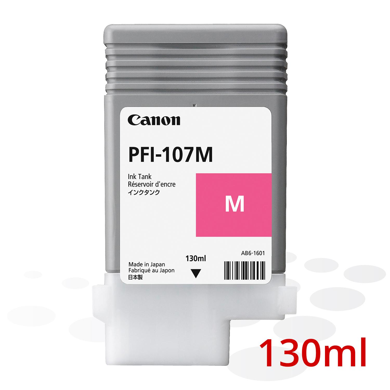 Canon PFI-107 M, Magenta, 130 ml