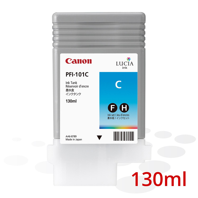 Canon PFI-101 C, Cyan, 130 ml