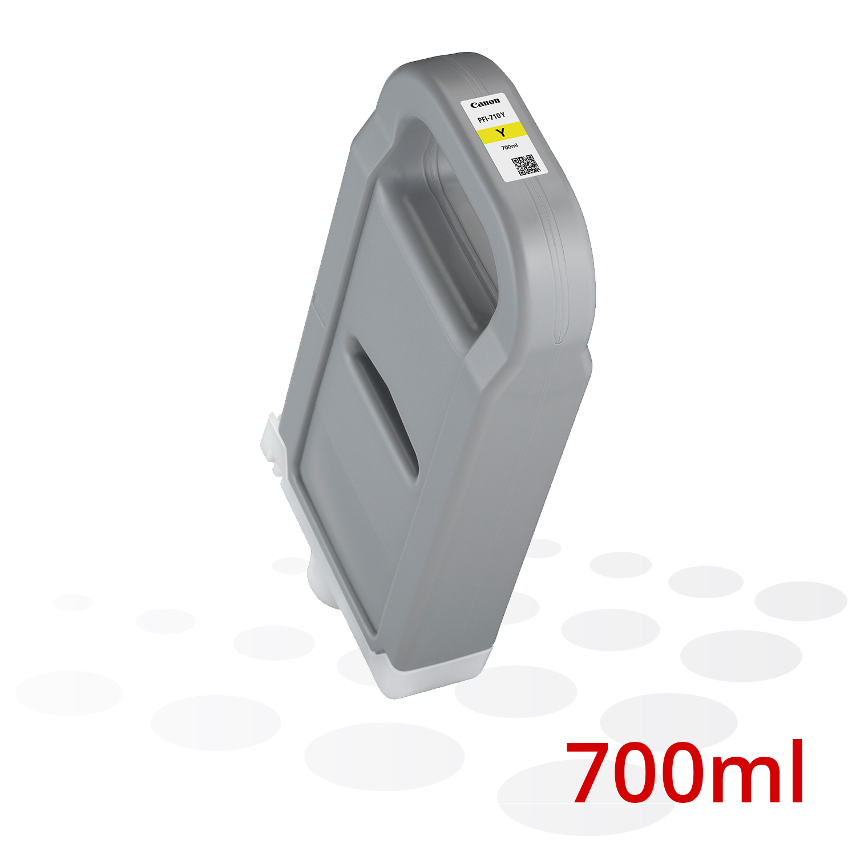 Canon PFI-710 Y, Yellow, 700 ml