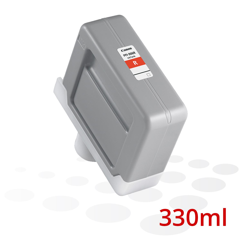 Canon Tinte PFI-306 R, Rot, 330 ml