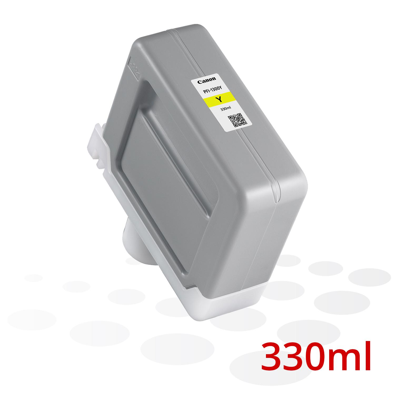 Canon PFI-1300 Y, Yellow, 330 ml