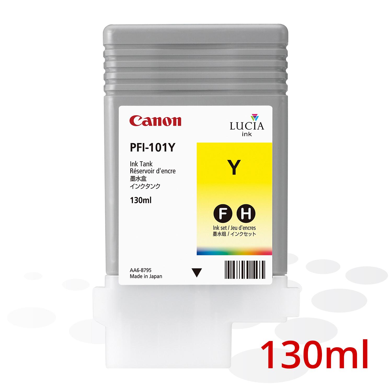 Canon PFI-101 Y, Yellow, 130 ml