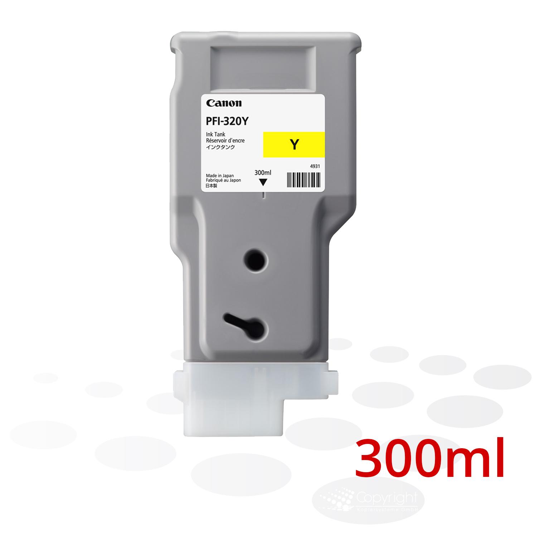 Canon Tinte PFI-320 Y, Yellow, 300 ml