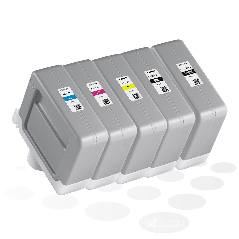 Canon Tinten PFI-310-SET (5 Tinten), je 330 ml