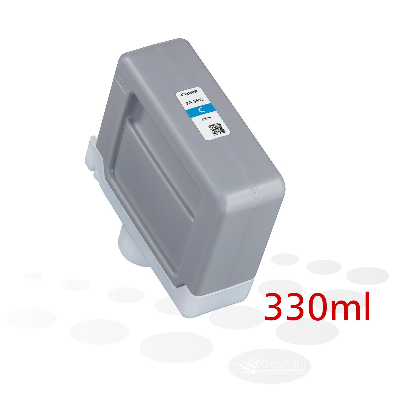 Canon PFI-340 C, Cyan, 330 ml