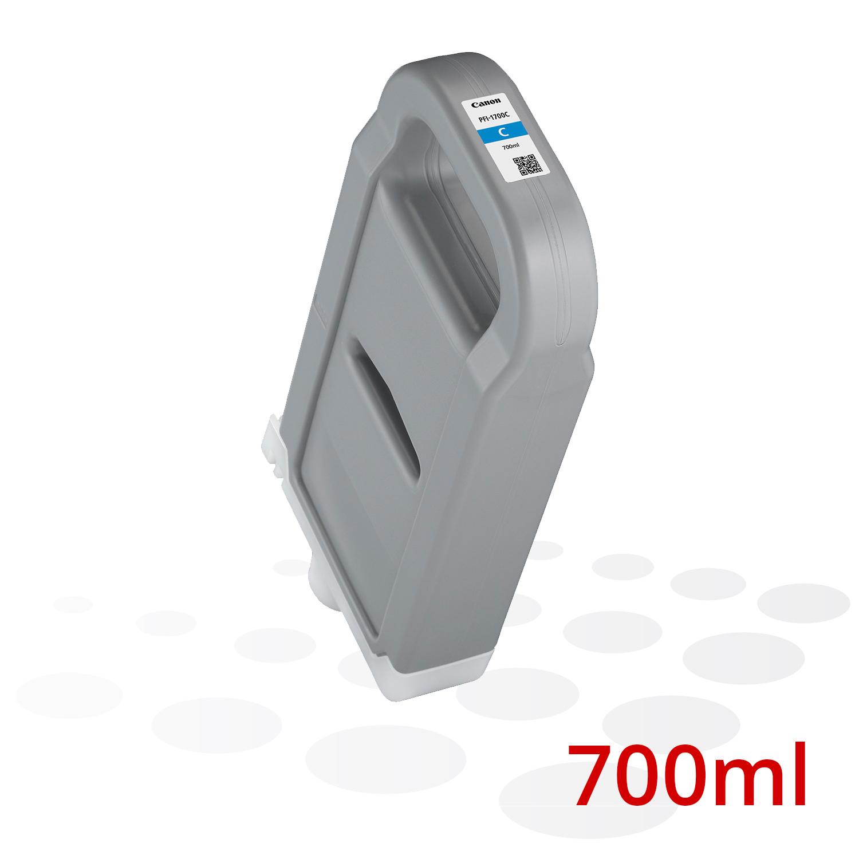 Canon PFI-1700 C, Cyan, 700 ml