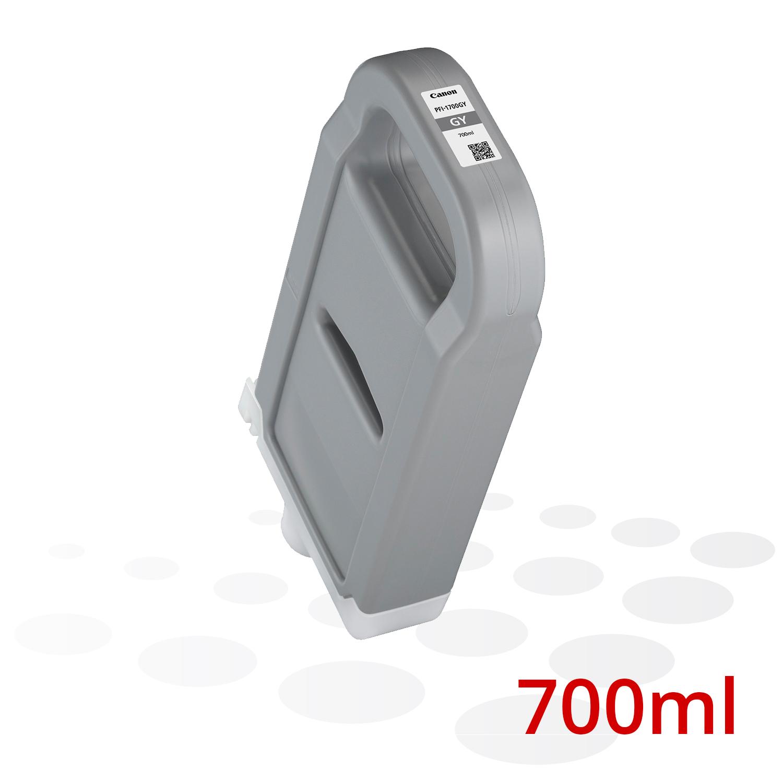 Canon PFI-1700 GY, Grau, 700 ml
