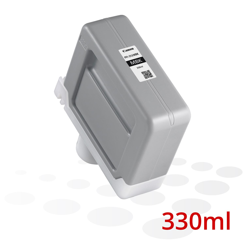 Canon PFI-310 MBK, Matt Schwarz, 330 ml