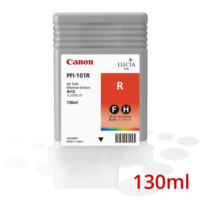 Canon PFI-101 R, Rot, 130 ml