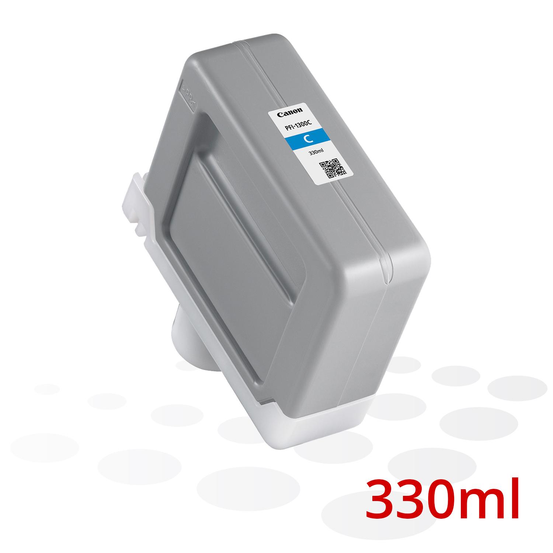 Canon PFI-1300 C, Cyan, 330 ml