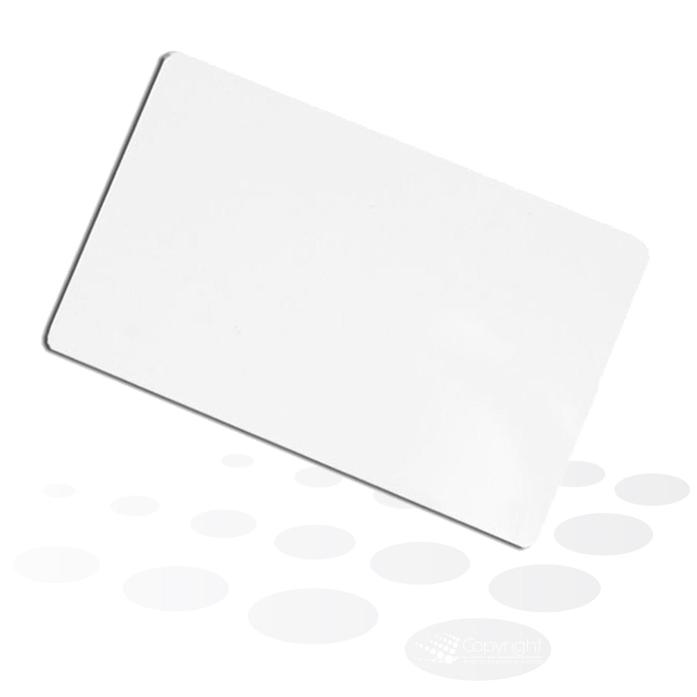 "Plastikkarten ""Fargo UltraCard"" – Standard weiß"