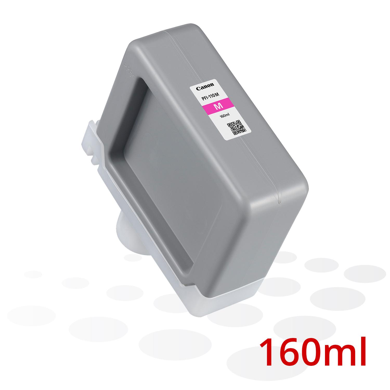 Canon PFI-110 M, Magenta, 160 ml