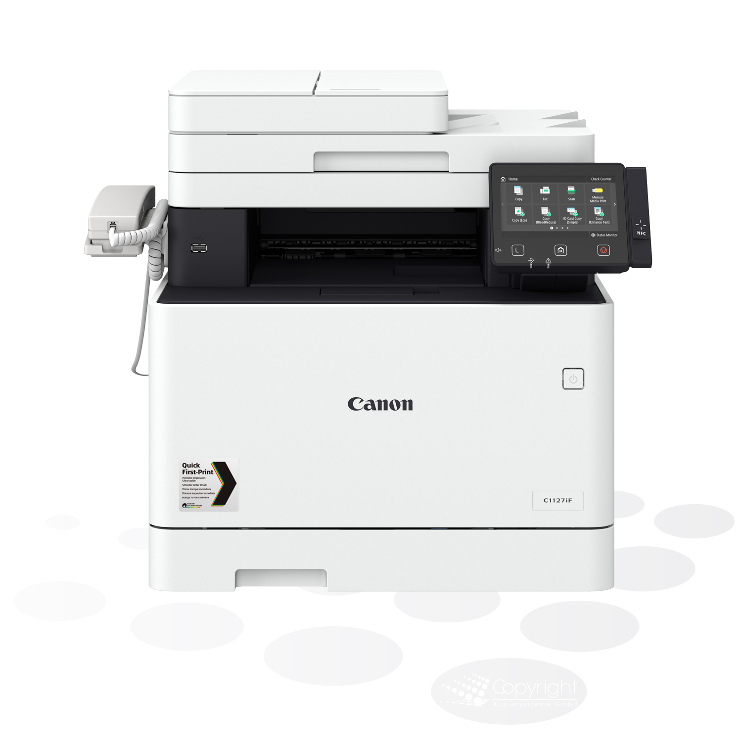 Canon i-SENSYS X C1127iF (inkl. Fax)
