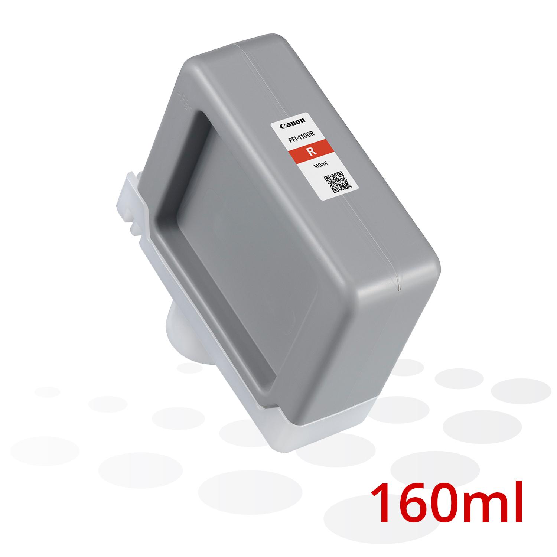 Canon PFI-1100 R, Rot, 160 ml