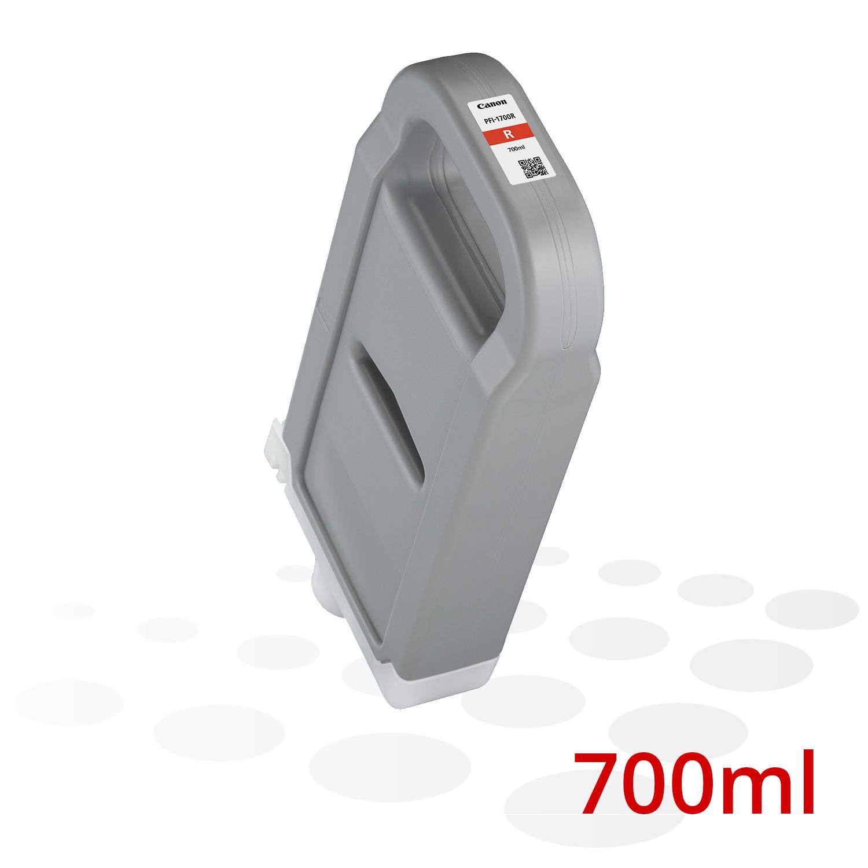 Canon PFI-1700 R, Rot, 700 ml