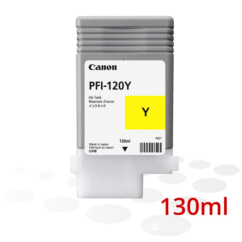 Canon Tinte PFI-120 Y, Yellow, 130 ml