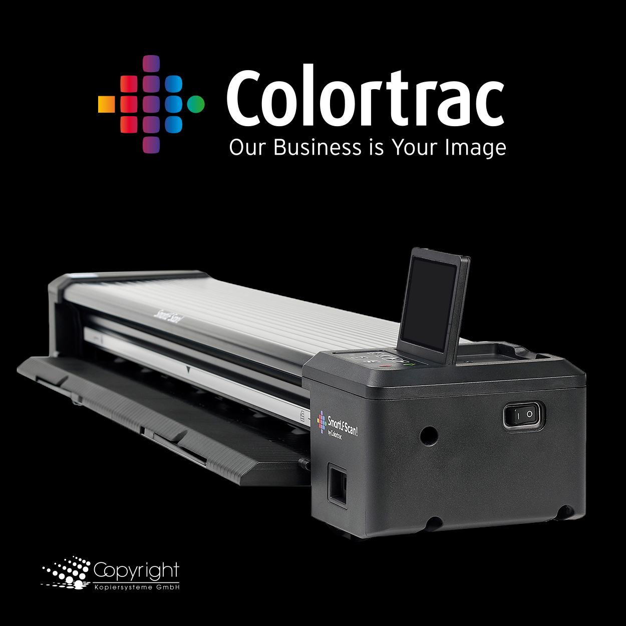 "Colortrac SmartLF Scan! 24"" Scanner to Go"