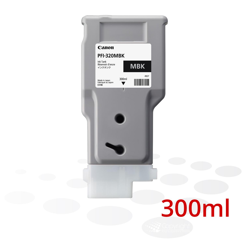 Canon Tinte PFI-320 MBK, Matt Schwarz, 300 ml