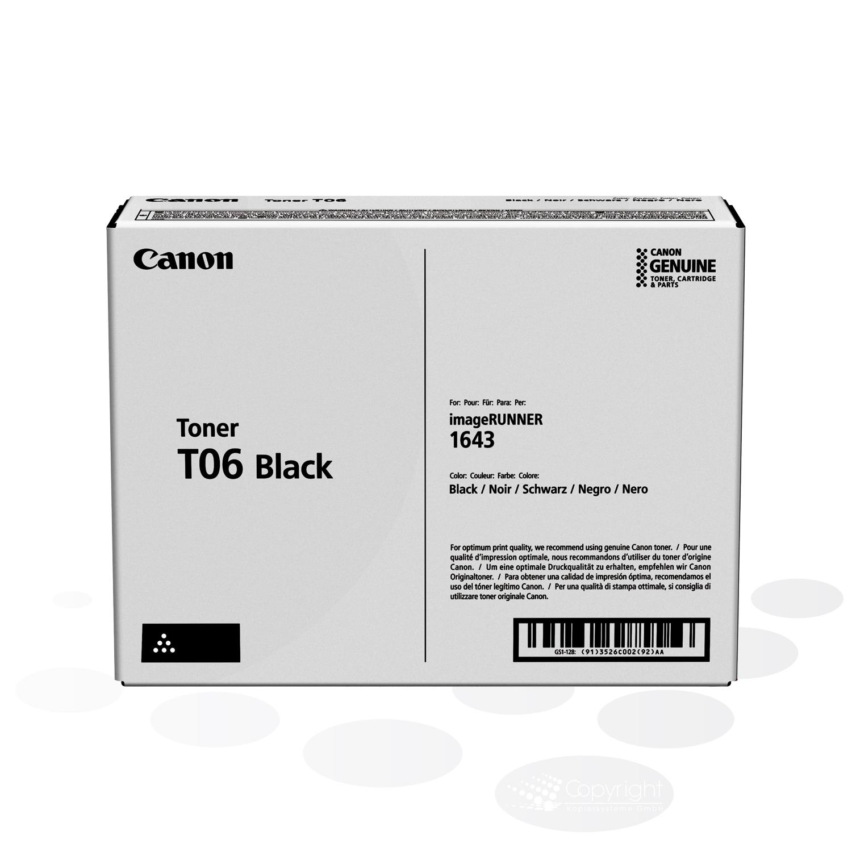 Canon Tonercartridge T06 BK, Schwarz