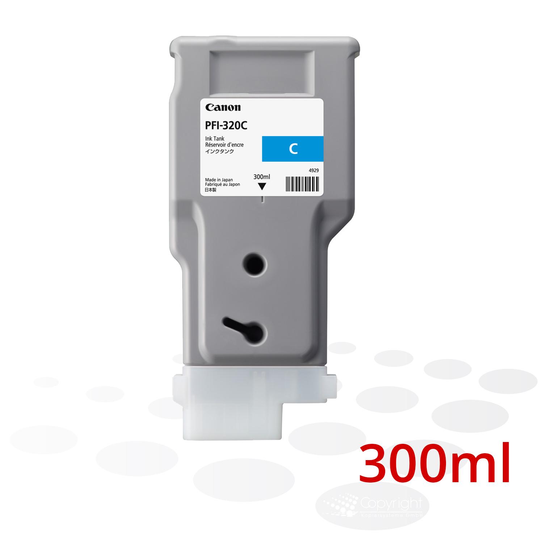 Canon Tinte PFI-320 C, Cyan, 300 ml