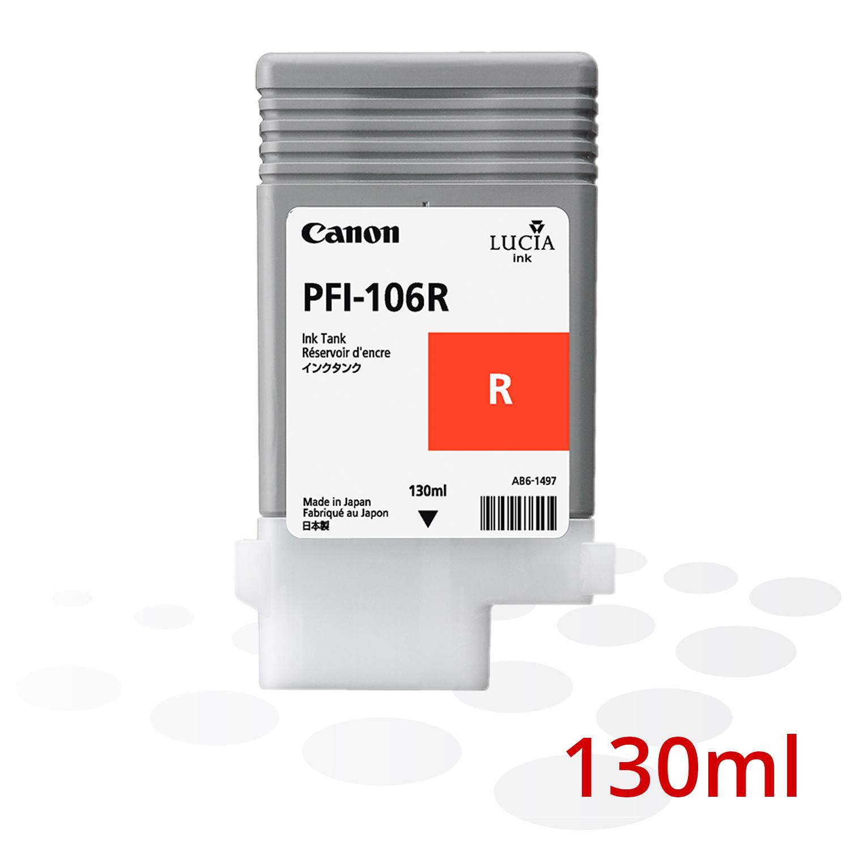 Canon PFI-106 R, Rot, 130 ml