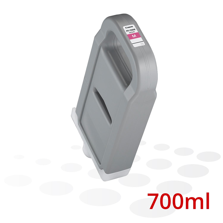 Canon Tinte PFI-706 M, Magenta, 700 ml