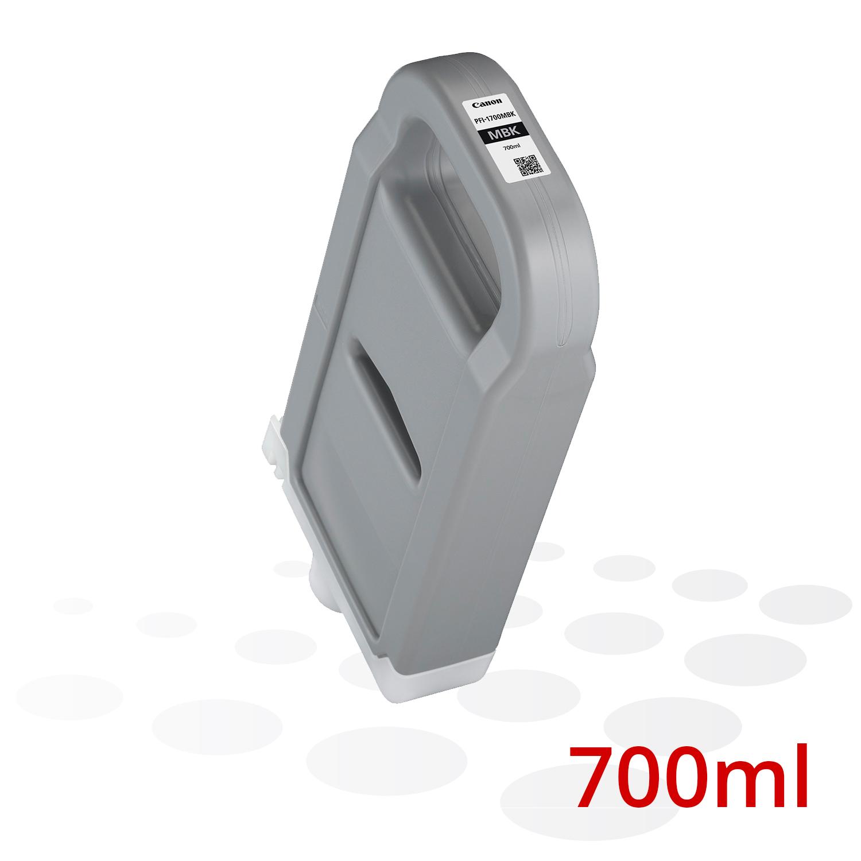 Canon PFI-1700 MBK, Matt Schwarz, 700 ml