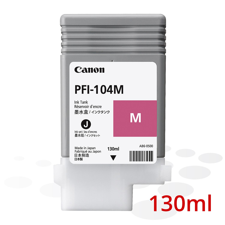 Canon PFI-104 M, Magenta, 130 ml